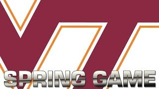 Virginia Tech Spring Game | ACC Football Highlights