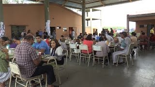 Más de 160 madrileños fueron albergados en la escuela N°54 de Taco Ralo