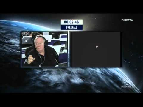 Felix Baumgartner - Salto dalla stratosfera Record da 39000 Metri