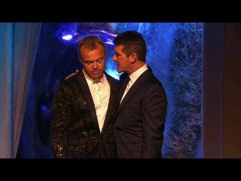 Out For A Fag Simon Cowell Deprives Miffed Graham Norton British Academy Television Awards 2010
