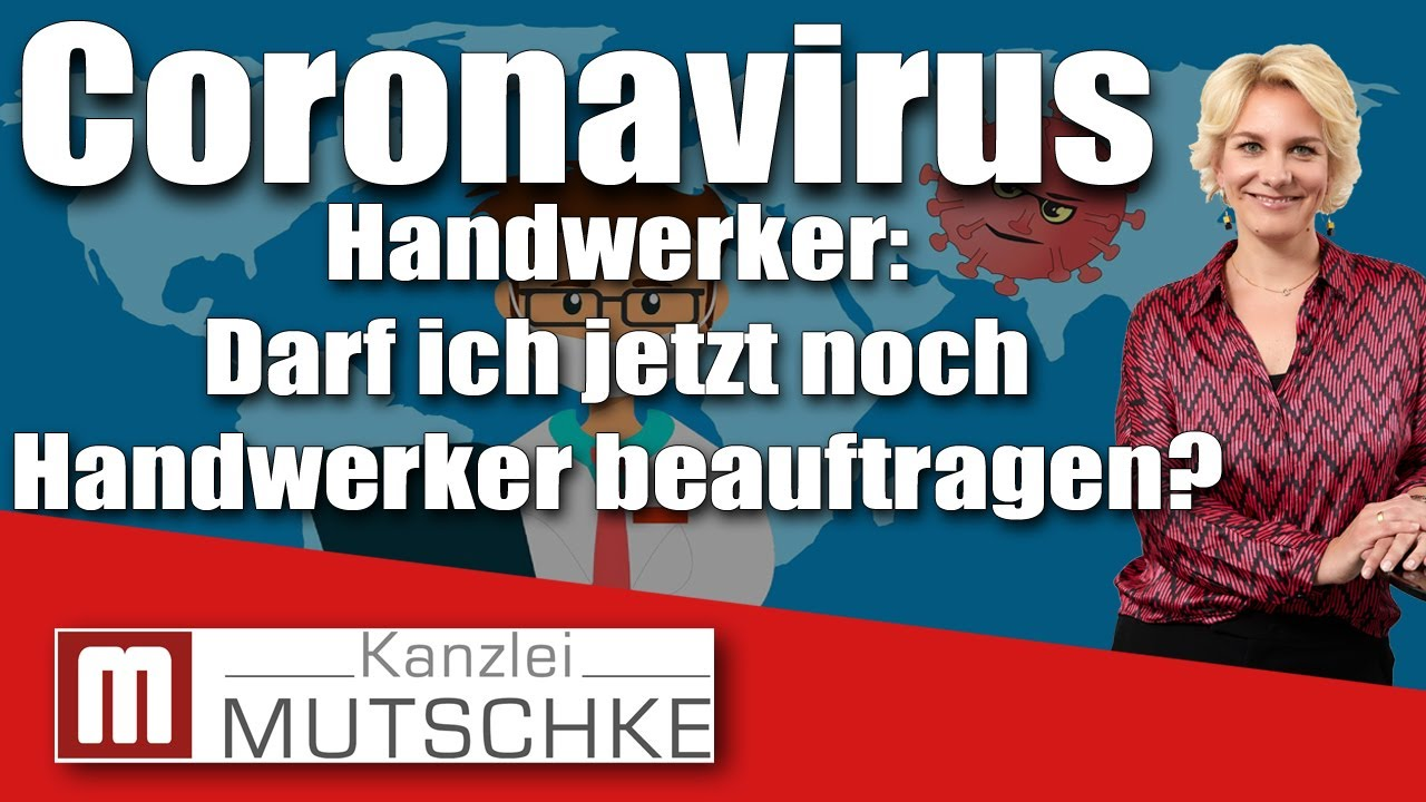 Coronavirus Handwerker