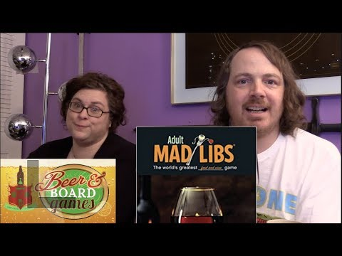 Mad Libs for Adults | Beer and Board Games