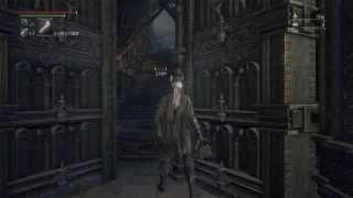 大聖堂で待ち構えている刀を持っためっちゃんこ強い狩人。 もぅ何度やっ...