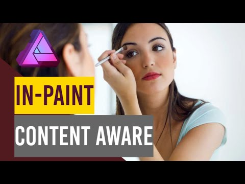 Inpaint in Affinity Photo