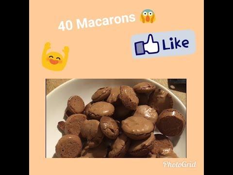 recette-macarons-🍴simple