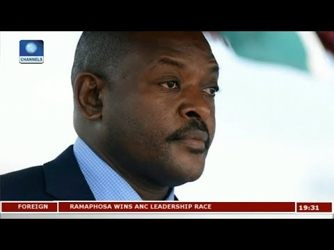 Burundi President Launches Campaign To Extend Rule Pt 1 | Diplomatic Channel |