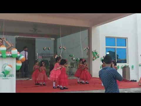 Papa mere papa Song performance by little girls @ GLS Porsa