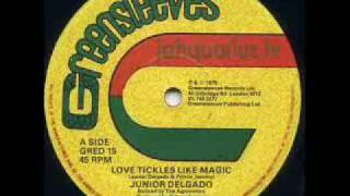 "junior delgado - love tickles like magic (12"")"