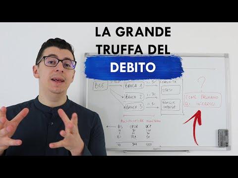 La Grande TRUFFA Del DEBITO E Della MONETA