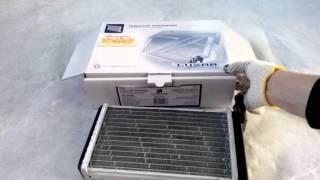Радиатор отопителя 2108,1102 алюминиевый Лузар COMFORT паяный LRh 0108b Dimavto.com(, 2013-09-27T16:47:22.000Z)