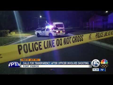 Fort Pierce Police still not identifying victim in officer-involved shooting