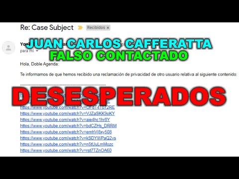 Juan Carlos Cafferatta - FALSO CONTACTADO - DESESPERADOS