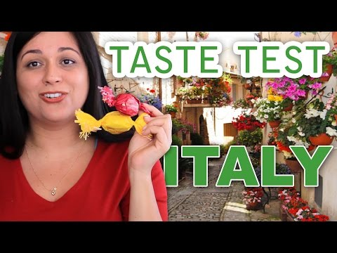 ITALIAN FOOD TASTE TEST #1 | ITALY | VIVIAN REACTS