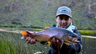 Coyhaique Fly fishing , Patagonia Chile. 2014