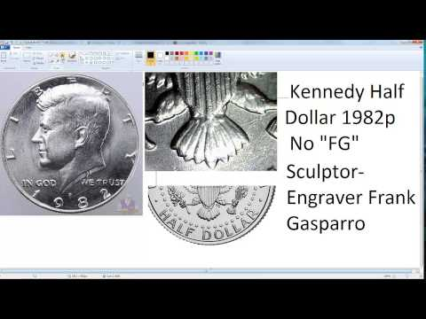 "Kennedy Half Dollar No ""FG"" Coin Collectible"