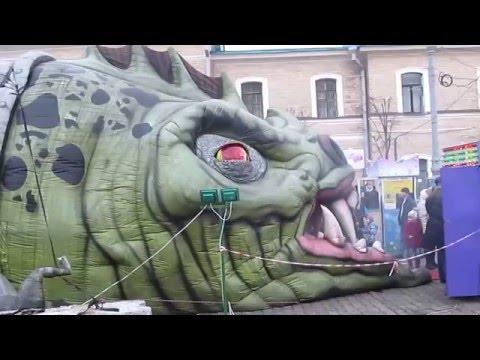 Комната страха Дракон на Площади Свободы Харьков