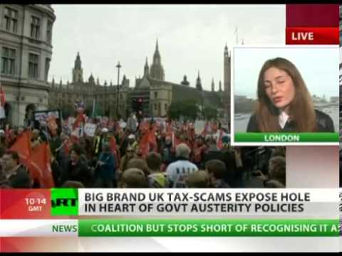 'Immoral' Big Biz  Starbucks, Google, Amazon tax scams exposed in UK   YouTube