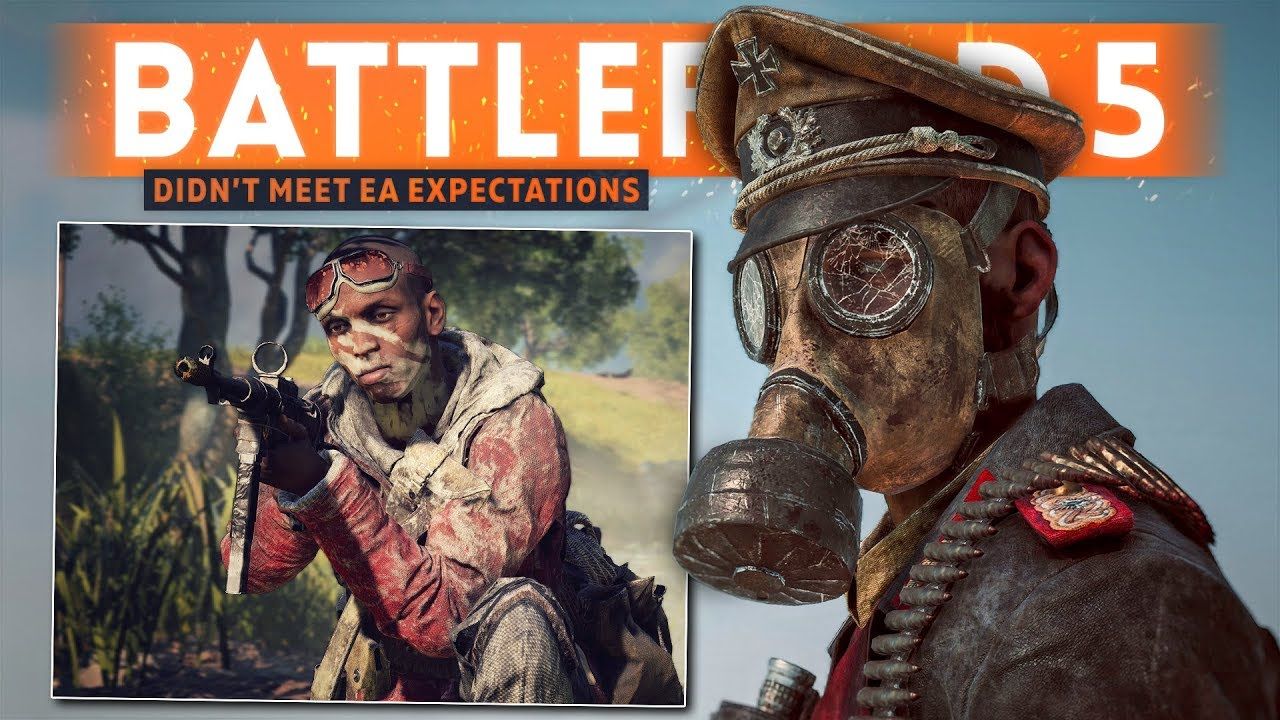 """Battlefield 5 Sales """"DIDN'T MEET OUR EXPECTATIONS"""", Says ..."""