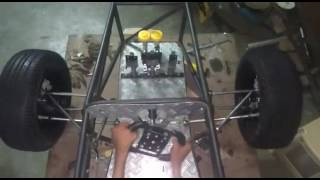 Steering of student formula car using rack and pinion #gif