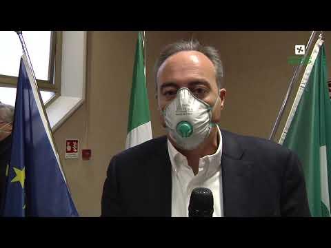 Coronavirus, la presentazione del reparto Covid da 180 posti degli Spedali Civili Brescia