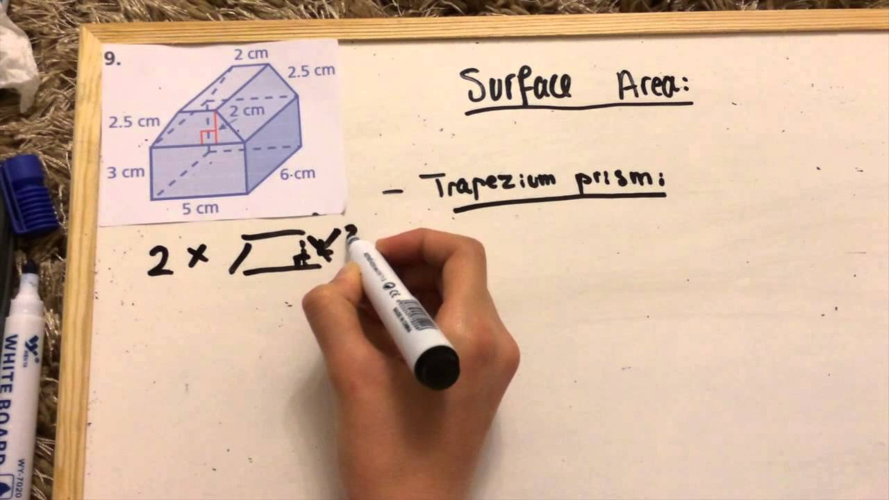 How To Find The Surface Area Of Composite Figures Youtube
