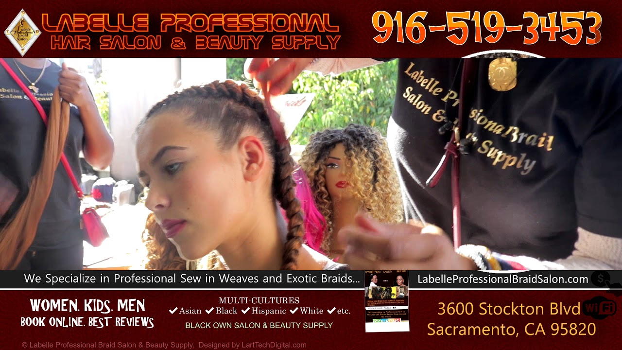 Sample Labelle Professional Hair Salon Beauty Supply 3600
