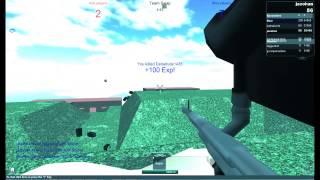 AtrixPx   Roblox Paintball OCE Sniper   Triple Kill!