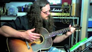 Black Water Mountain side Jansch Led Zep 30 minute wood shed lesson