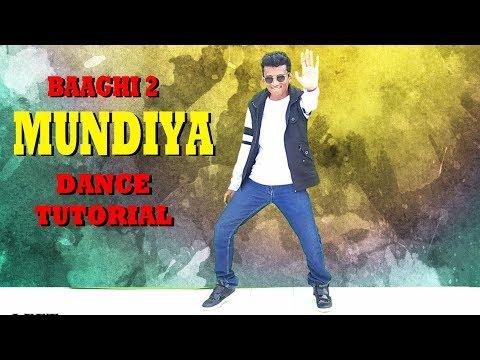 Mundiya Dance TUTORIAL  Baaghi 2  Nishant Nair  Tiger Shroff  Disha Patani