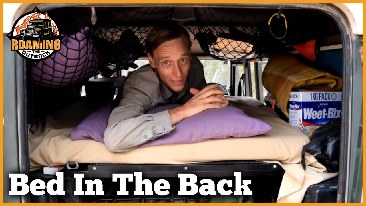Sleeping In The Back Of A Defender Youtube