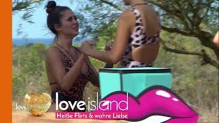 Tränen bei Melissa während der ersten Challenge | Love Island Staffel 3
