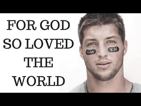 Tim Tebow Shares Incredible Story Of John 3:16