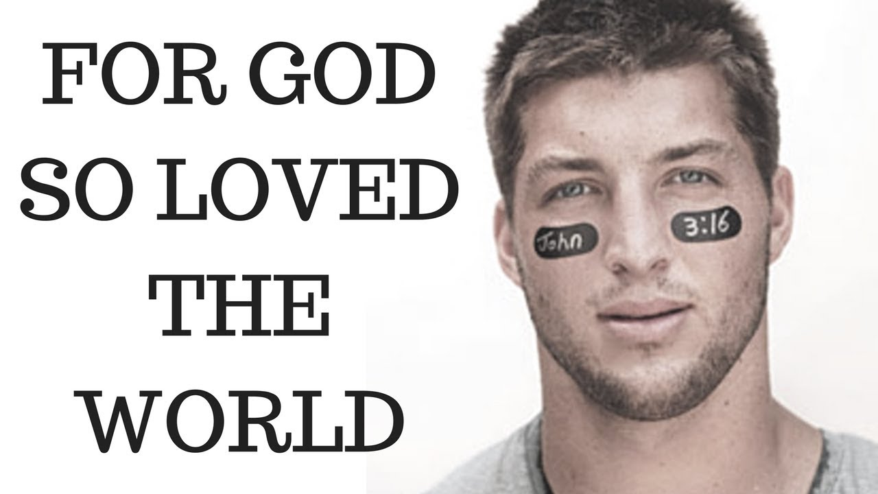 Tim Tebow Shares Incredible Story of John 3:16
