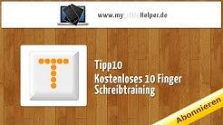 Tipp10 - Kostenloses 10-Finger Schreibtraining