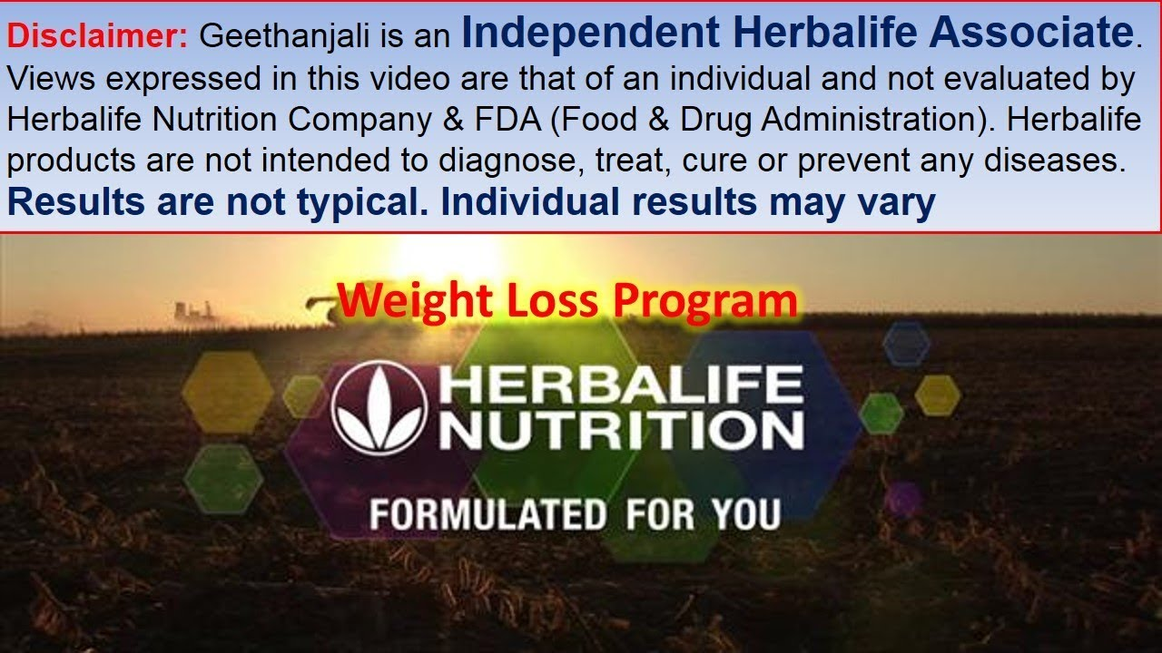 Herbalife Diet Plan Ultimate Weight Loss Program