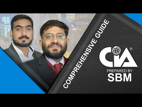 A Comprehensive guide to CIA (Certified Internal Auditor) by SBM