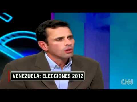 Entrevista a Henrique Capriles Radonski en Cala por CNN