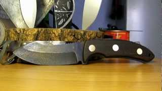 Изготовление ножа Katz Kagemusha. #4 the end.