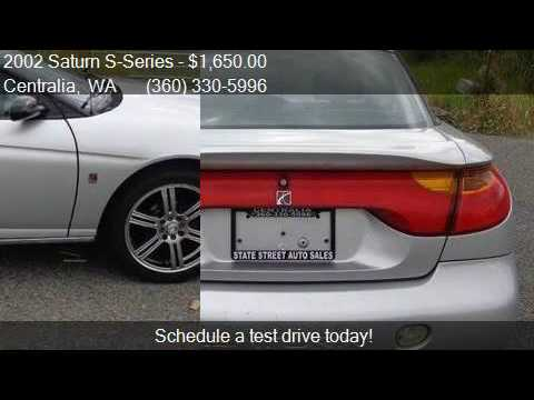 2002 Saturn S Series Sc2 3dr Coupe For Sale In Centralia Wa Youtube