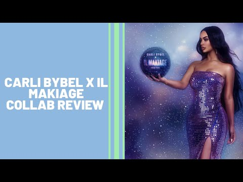 NEW Carli Bybel x Il Makiage Collection Review | Brown Skin Friendly thumbnail