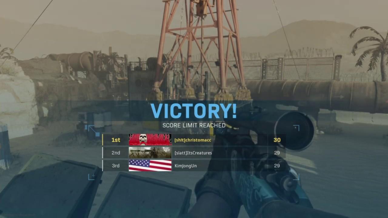 Call of Duty MW - Rust - Gunfight trickshot - YouTube