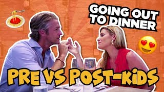 Going out to dinner Pre-Kids VS Post-Kids // KIDS REACT