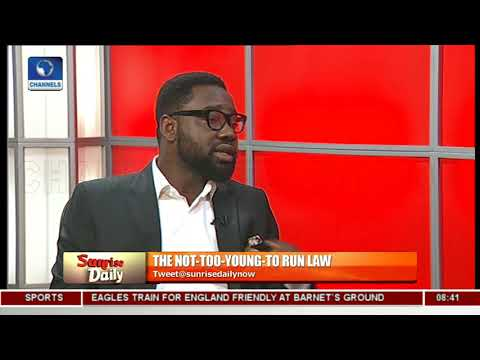#NotTooYoungToRun: Analyst Calls For More Focus On Performance Not Age Pt.1 |Sunrise Daily|