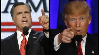 Romney Thinks Trumps Tax Returns are Hiding Something