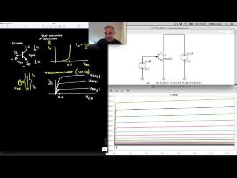 BJT Operation: Transistor Current-Voltage Characteristics