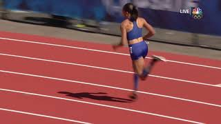 Allyson Felix athletic and tough