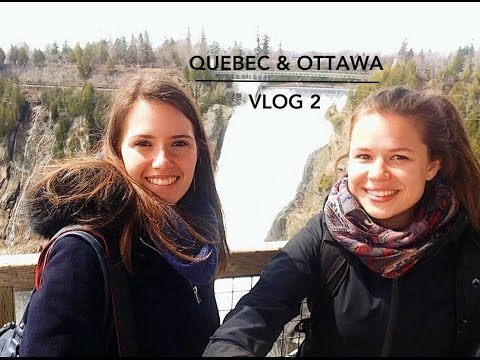 LIVING THE CANADIAN LIFE IN QUEBEC CITY & OTTAWA // VLOG 2