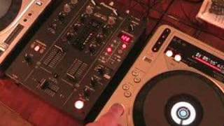 Fader start, What does it do? video 1, Dj tutorial on Pioneer DJM-400(http://www.djtutor.com/mixerfx http://www.djtutor.com/demos/mixers video one , looking at what the fader start does on a dj mixer. Pioneer DJM-400., 2007-09-21T11:47:27.000Z)
