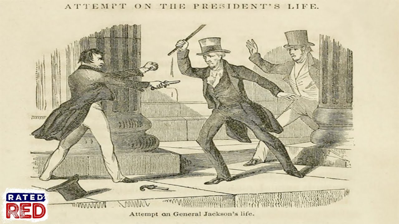 Image result for andrew jackson assasination