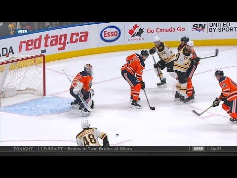 Bruins down 0-2 in the 3rd, beat Oilers 3-2 2/20/18
